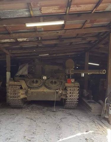 Panzer in Scheune in Amerika gefunden. Was ist das für ein Modell?