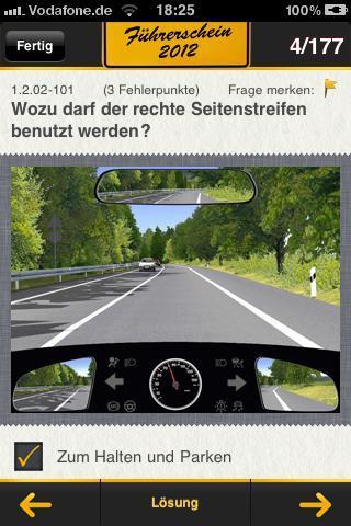 Handy-Auto anhakt an
