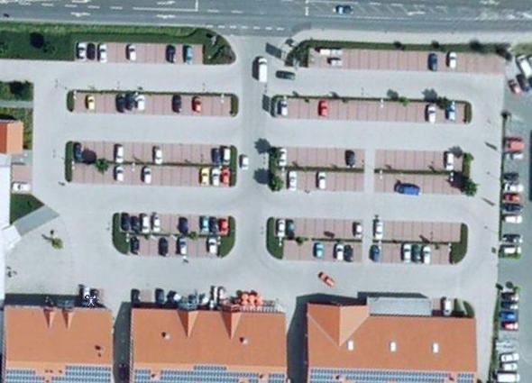 ParkplatzVonOben - (Verkehr, Verkehrsrecht)