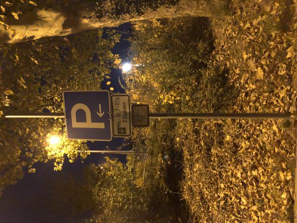 - (Auto und Motorrad, Verkehrsrecht, Parken verboten)