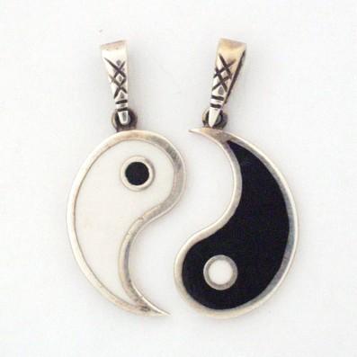 Yin yang kette zweiteilig ebay