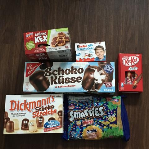 Süßigkeiten für die Party  - (essen, Party, Suessigkeiten)