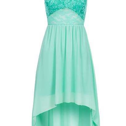 Vokuhila-Kleid - (Mode, Schuhe, Kleid)