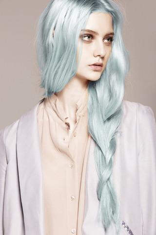 Passen Eisblaue Haare Zu Mir Eis Directions Blaue Haare