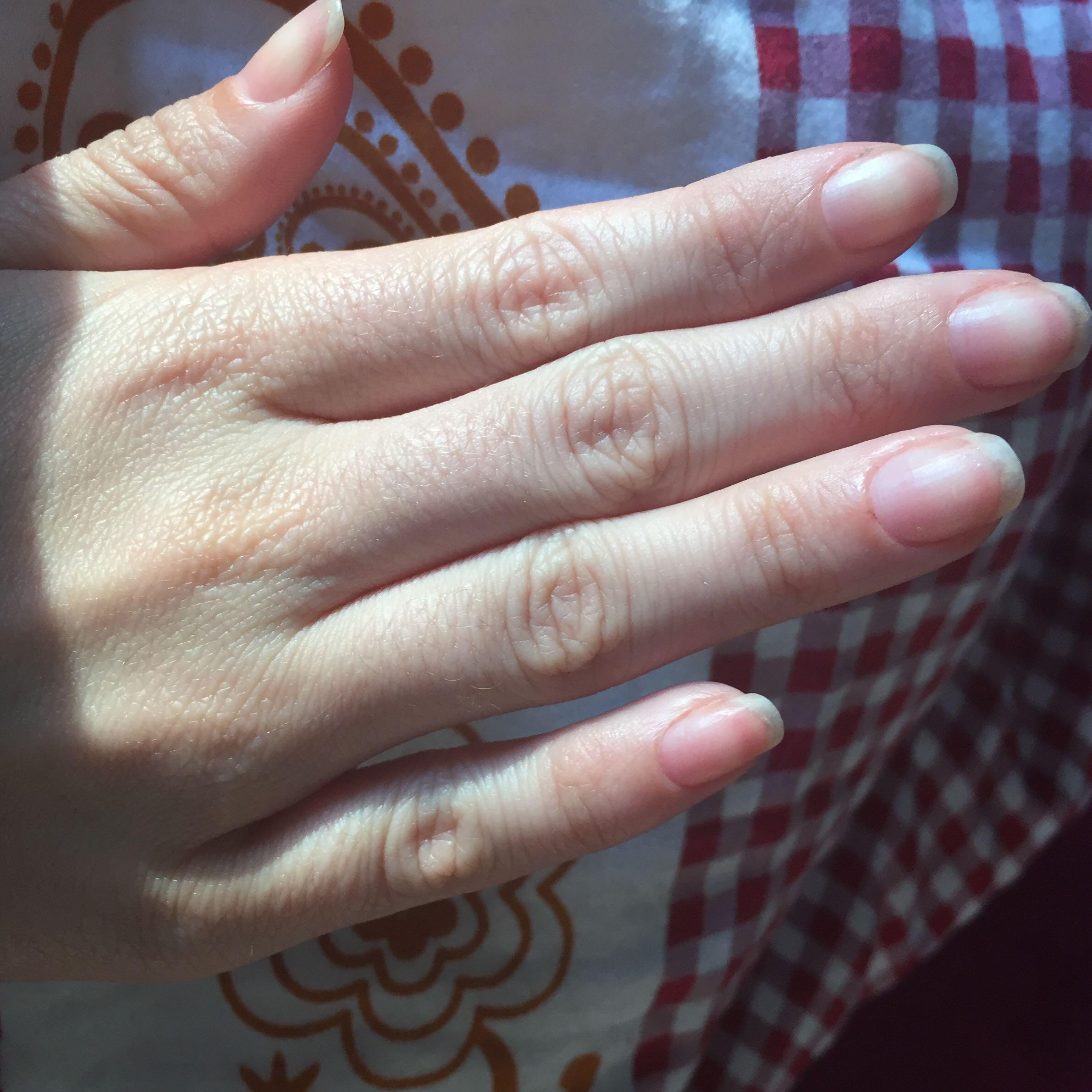 Passen meine nägel zu meiner hand? (Nagellack, SB, Nagelfeile)