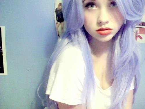 lila haare - (Haare, färben)
