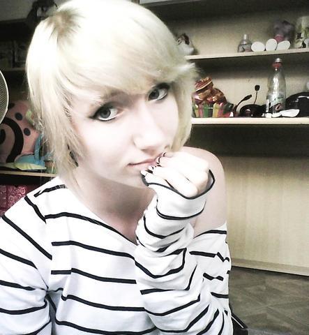 Weißblond. - (Haare, Haarfarbe)