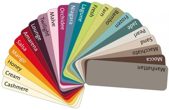 Farbfächer   (Farbe, Raumgestaltung)