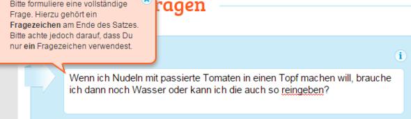 aw - (Tomaten, passiert)