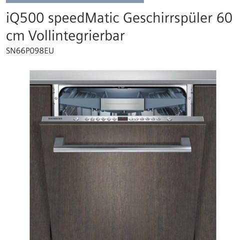 SN66P098EU   (Küche, IKEA, Geschirrspüler)