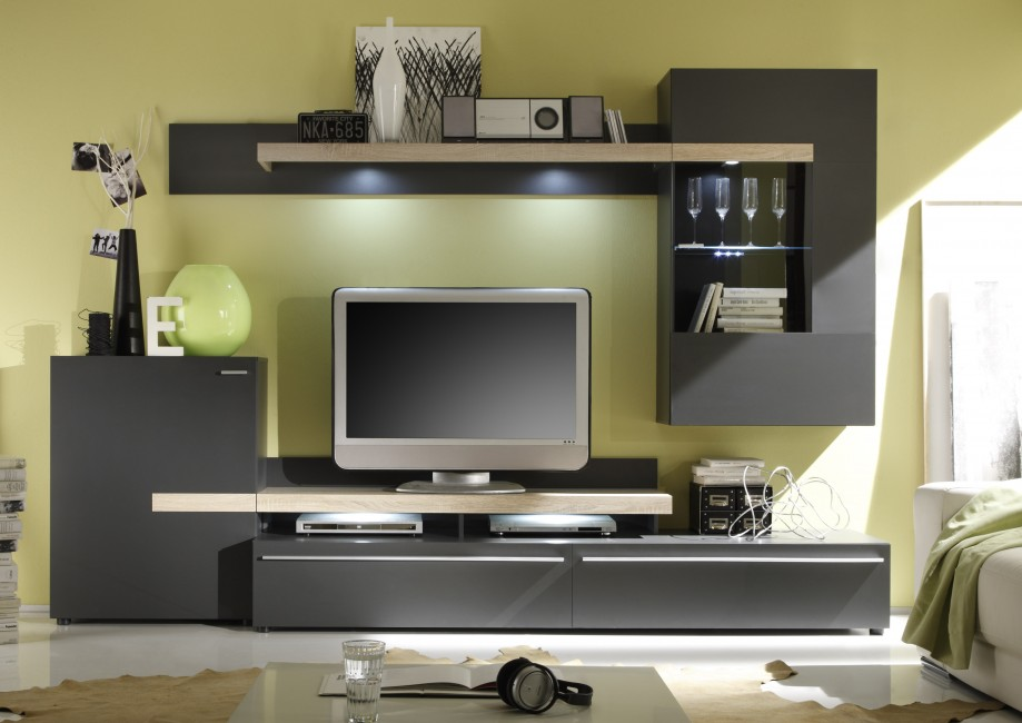 wohnzimmer wei braun wand. Black Bedroom Furniture Sets. Home Design Ideas