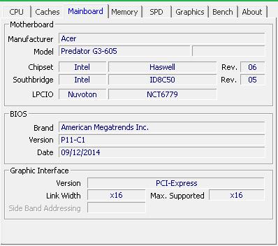 Mainboard - (PC, RAM, Upgrade)