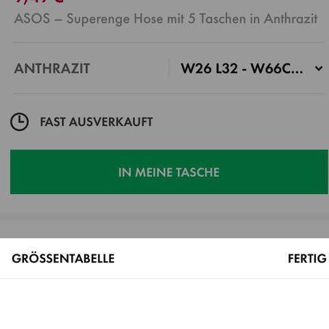 Die größe der hose - (kaufen, Hose)