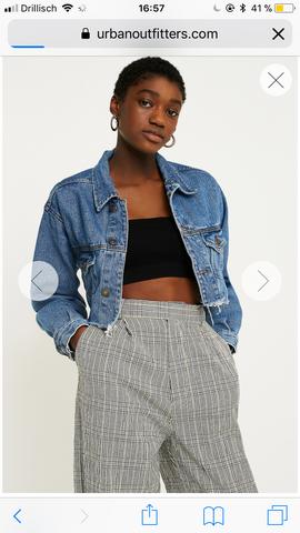 on sale 7e8a3 0d538 Passt eine schwarze Hose zu einer hellen Jeansjacke? (Mode ...