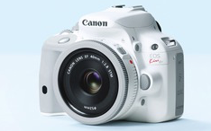 weisse Canon EOS 100d - (Kamera, Canon, stativ)