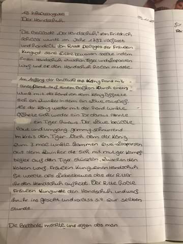 - (Schule, Deutsch, Inhaltsangabe)