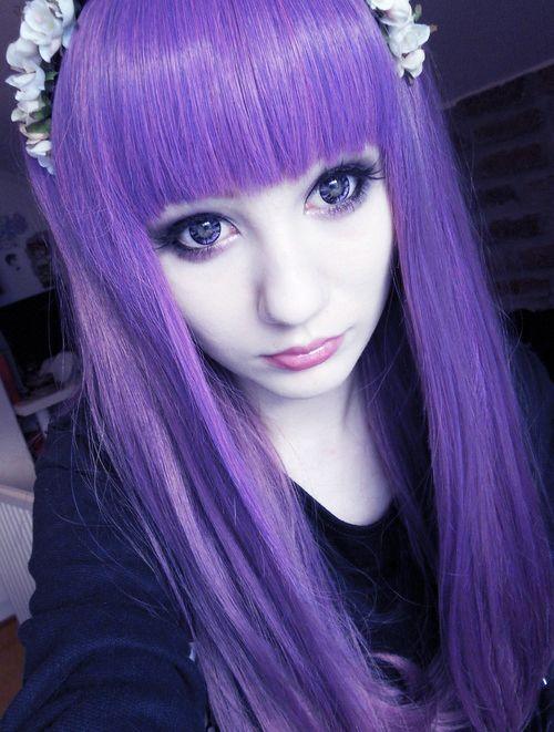 Pastel Goth Shops Emo Shops Bunte Haarfarbe Style