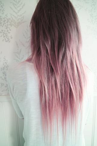Pastell Rosa Haare Färben