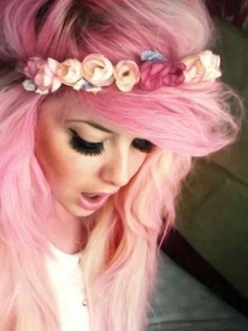 pastell haare - (Haare, blondieren, Grunge)