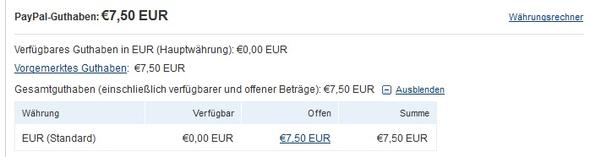Pay Pal - (Geld, Zahlung, Pay Pal)