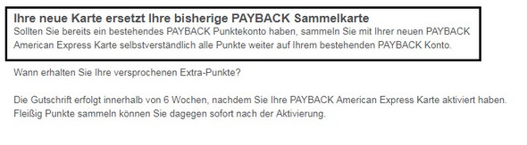 Payback Amex Karte Neues Payback Konto Handy Smartphone