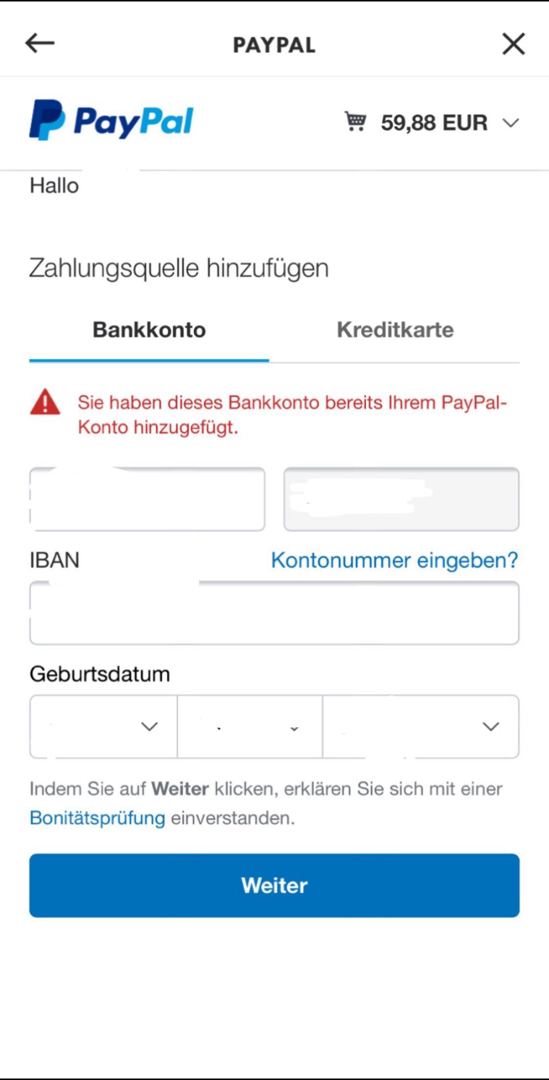 Paypal Geld Nicht Auf Konto