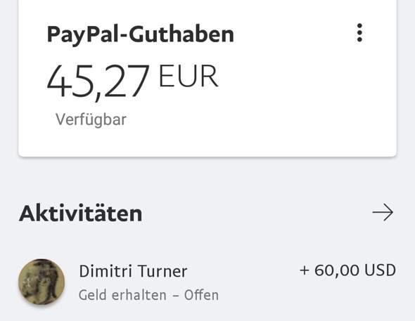 Paypal Wie Lange