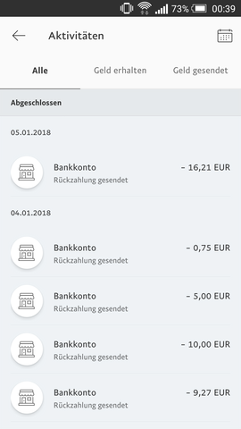 Bucht Paypal Samstags Ab