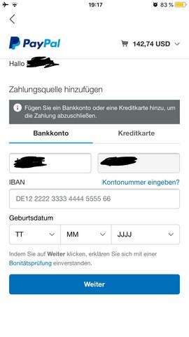 Paypal Bezahlen Funktioniert Nicht