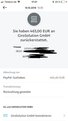 Giropay Paypal