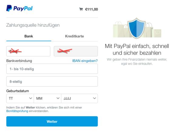 Mein Paypal Konto Aufladen