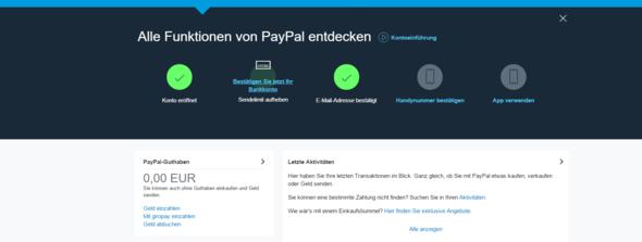 Da stehts noch - (online, PayPal)