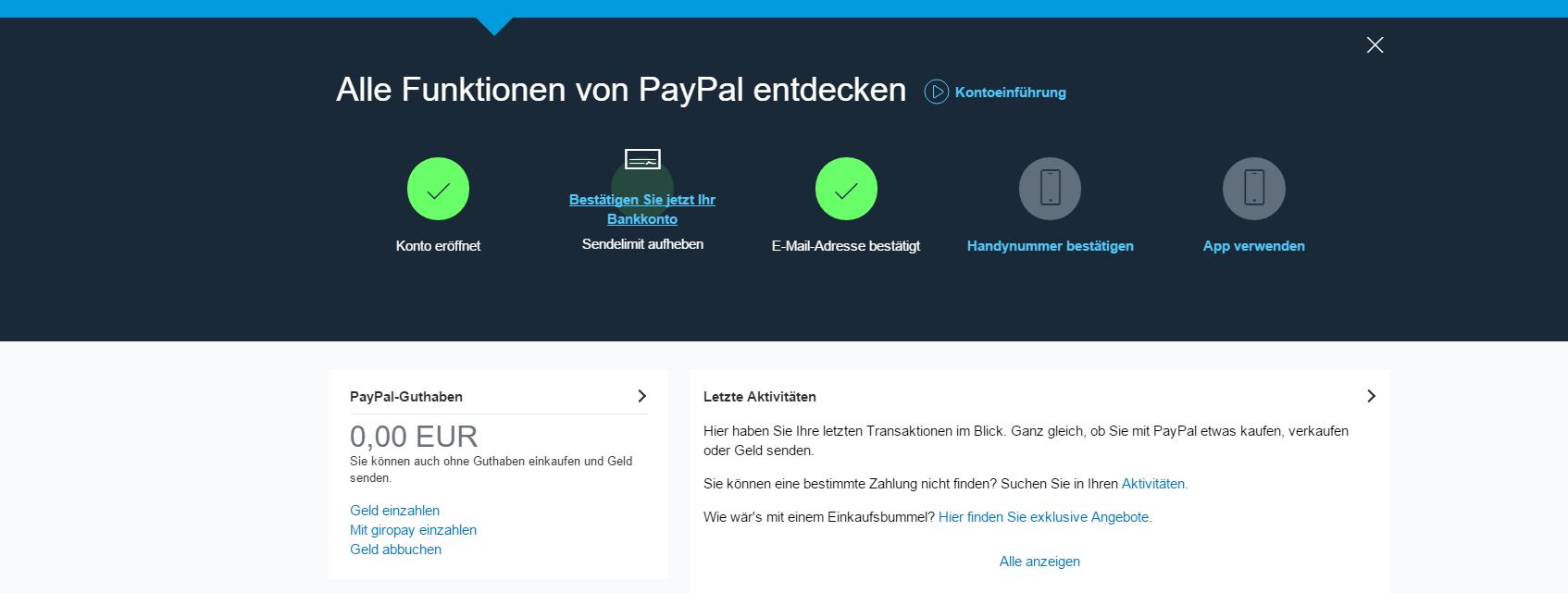 Wie Geht Paypal-überweisung