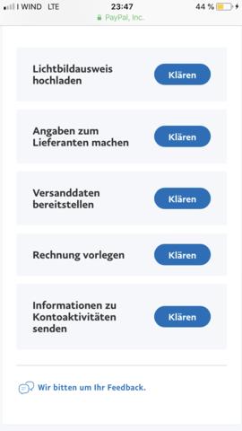 Paypal Konto Vorübergehend Gesperrt