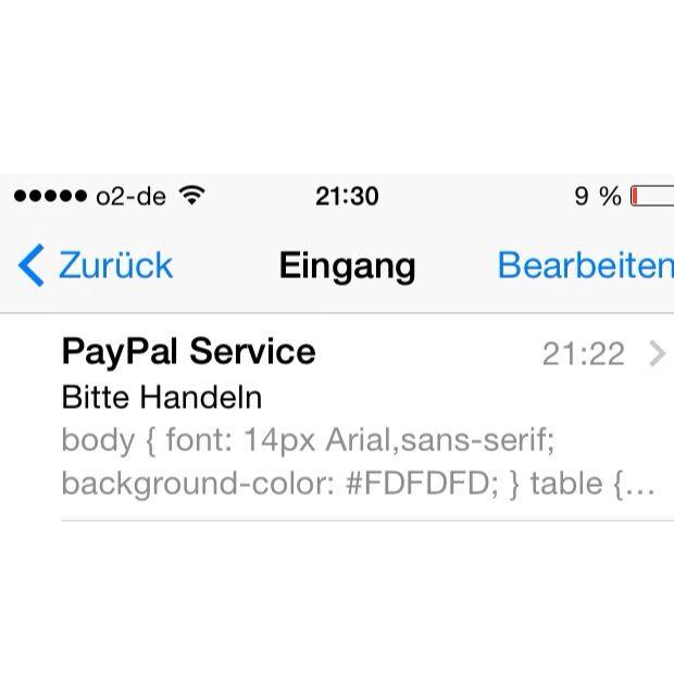 Paypal Konto Einschränkung Fake mail? (Schutz, Spam)