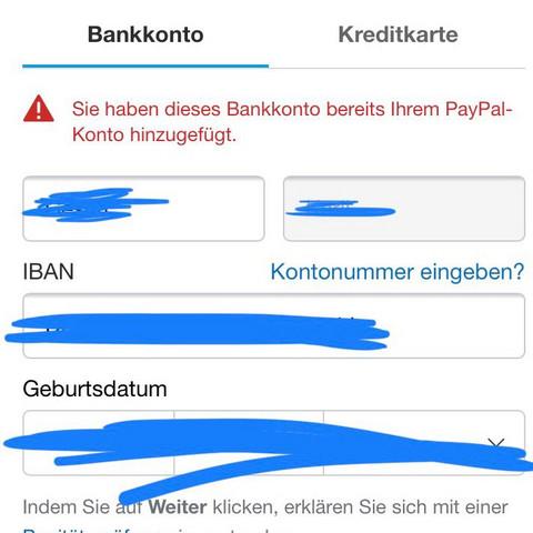 Paypal Kein Geld Auf Konto