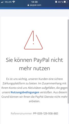 Paypal Konto Anzeigen