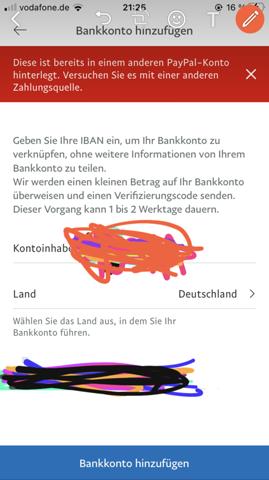 Paypal Konto Nicht Verifiziert