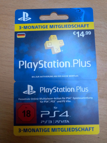 paypal oder kreditkarte ein muss f r playstation plus. Black Bedroom Furniture Sets. Home Design Ideas