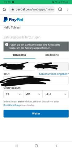 PayPal problem, was kann ich tun?