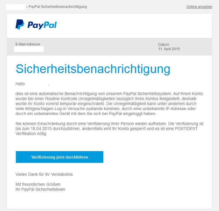 Paypal Werben