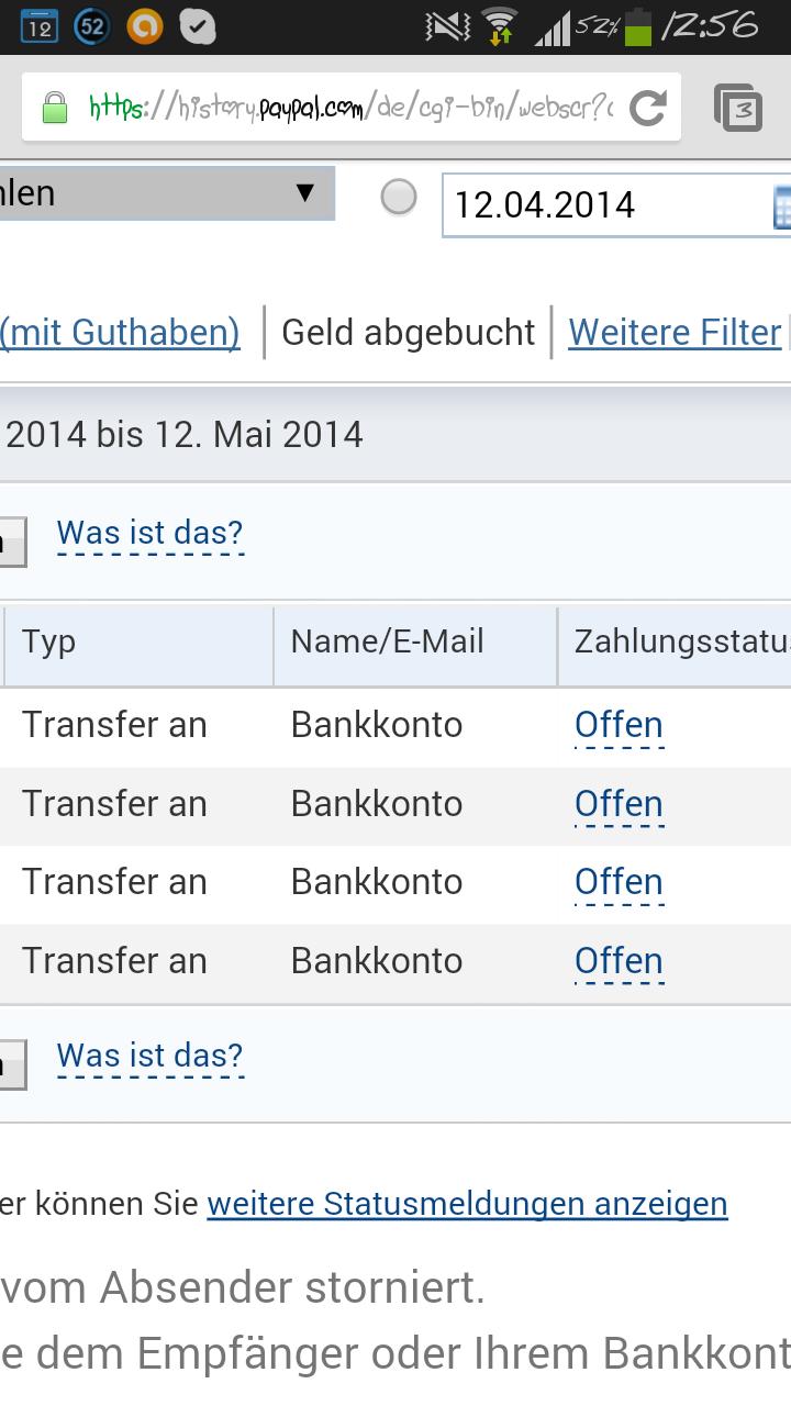 Paypal Гјberweisung Auf Bankkonto Dauer
