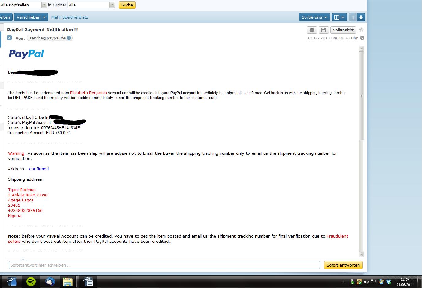 Ebay Betrug Paypal