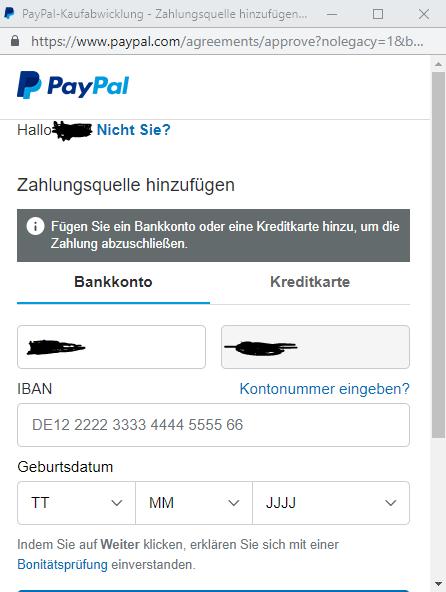 Mit Paypal Bezahlen Ohne Guthaben
