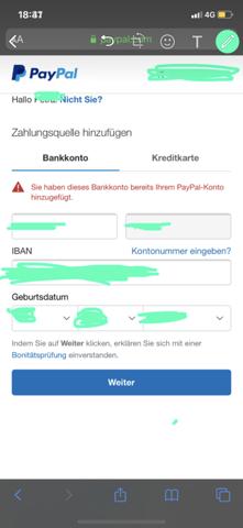 Paypal Konto Verifizieren Geht Nicht