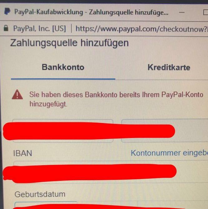 Paypal Zahlung Geht Nicht