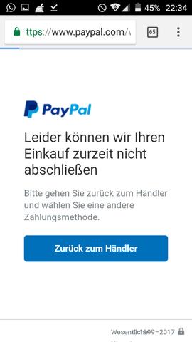 Paypal Nicht Gebucht