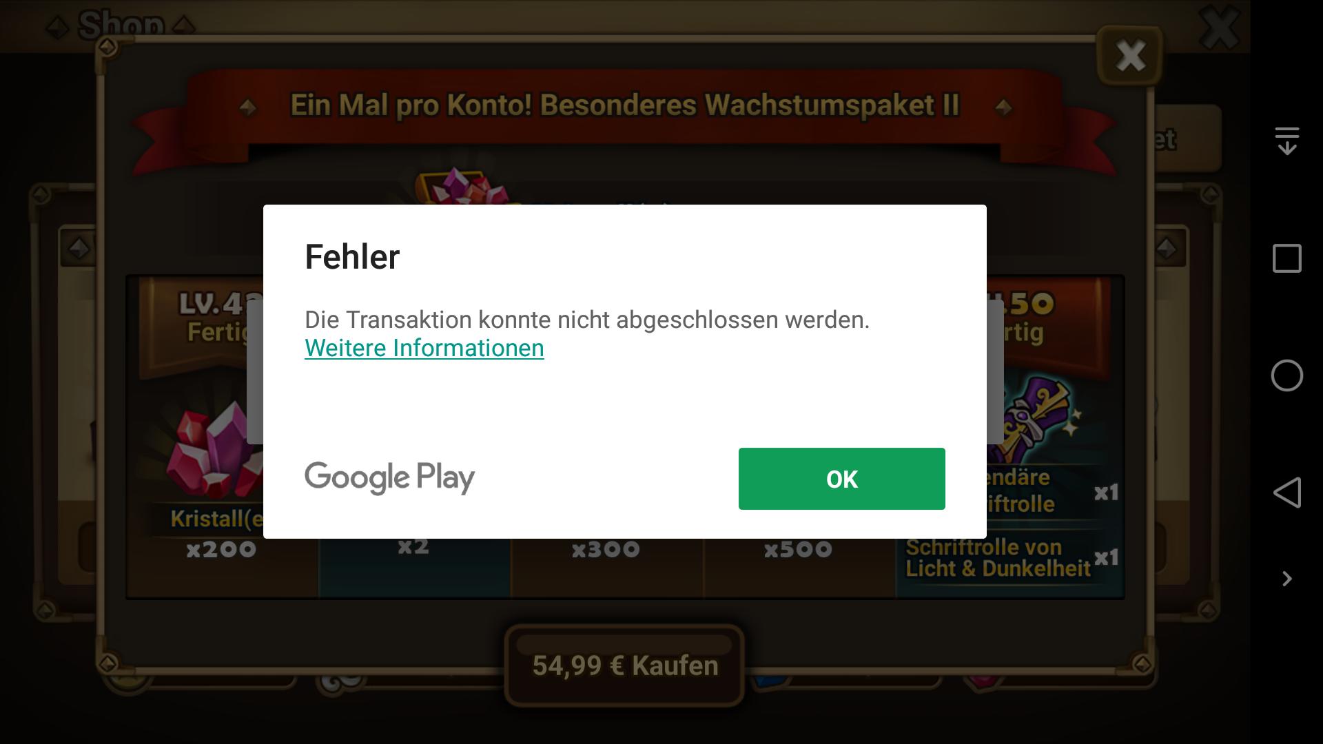 Google Play Paypal Nicht VerfГјgbar
