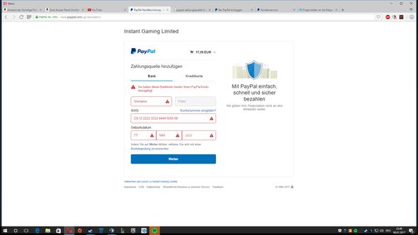 Paypal Zahlungsquelle Hinzufügen Obwohl Schon Vorhanden 2021