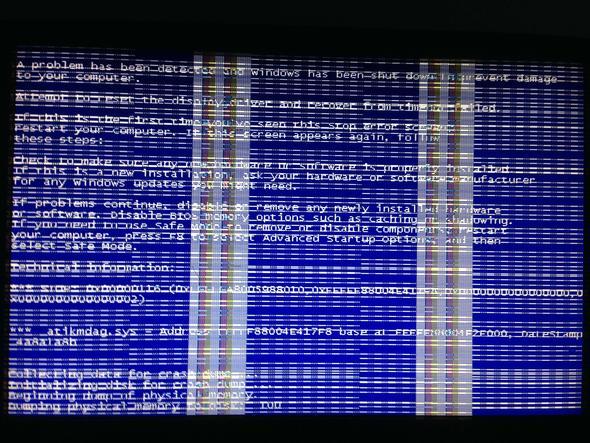 Bluescreen - (PC, kaputt, Bluescreen)